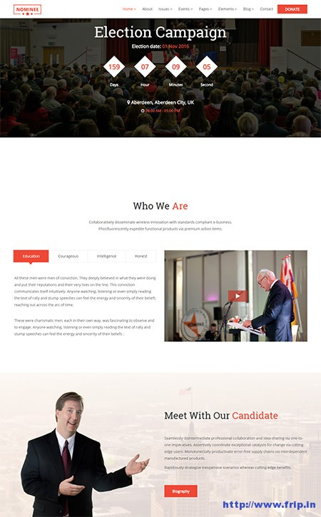 Nominee-Political-Leader-WordPress-Theme