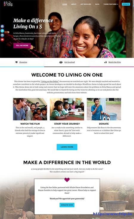 Pena-Charity-WordPress-Theme