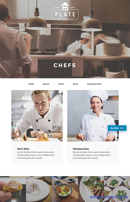 Plate-Restaurant-&-Café-WordPress-Theme