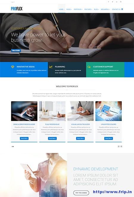 ProFlex-Corporate-Joomla-Template