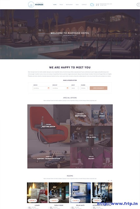 Riverside-Resort-Hotel-&-Resort-WordPress-Theme