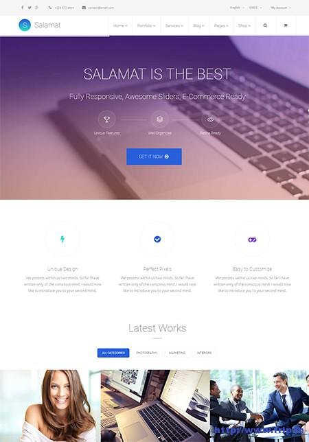 Salamat-Business-Joomla-Template