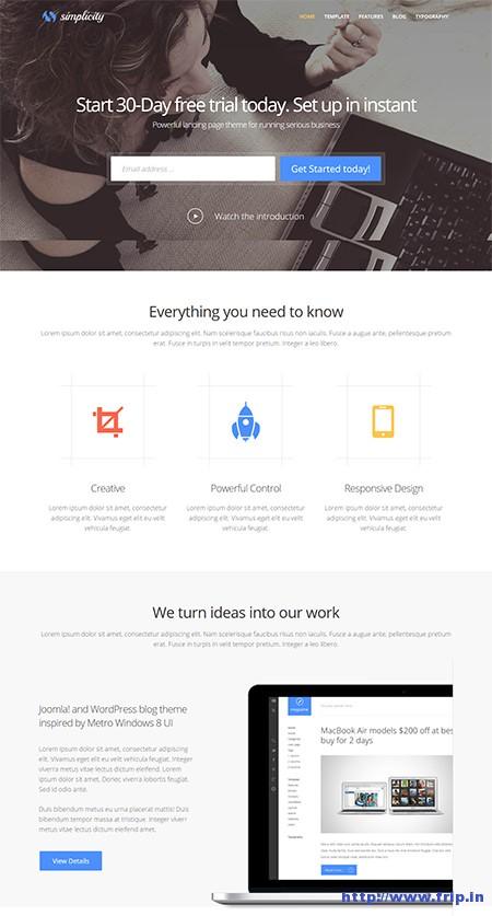 Simplicity-Business-Joomla-Template