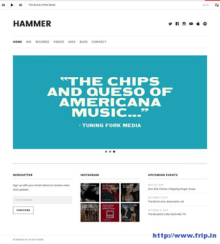 hammer-music-wordpress-theme