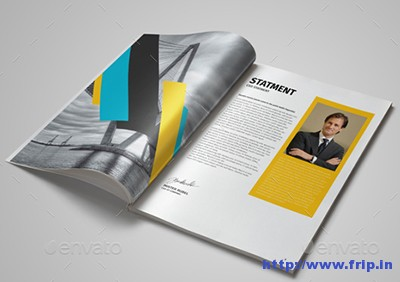 48-Pages-Annual-Report-Template
