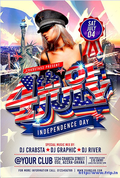 4th-July-Flyer-Template-Vol 1