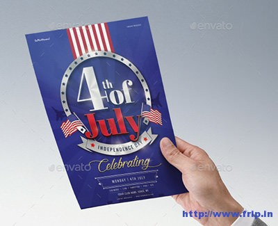 4th-of-July-Celebration-Poster