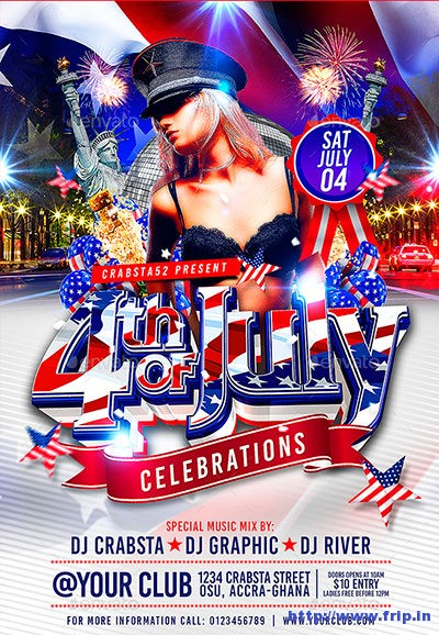 4th-of-July-Celebrations-Flyer-Template