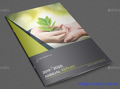 Annual-Report-Brochure-Template-–-24-Pages