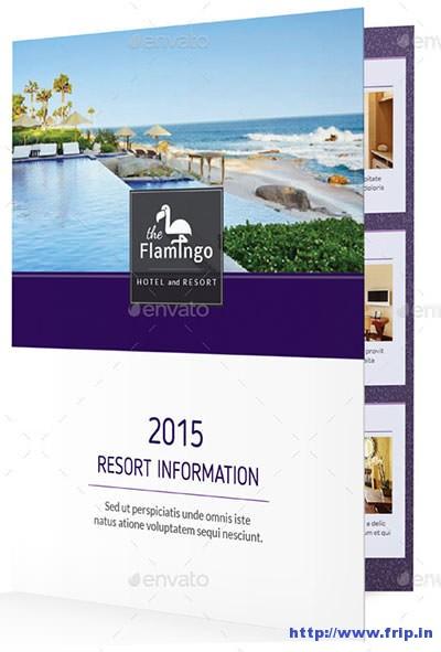Beach-Resort-Bifold-Halffold-Brochure