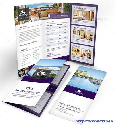 Beach-Resort-Trifold-Brochure