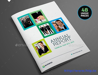 Clean-Annual-Report-Brochure