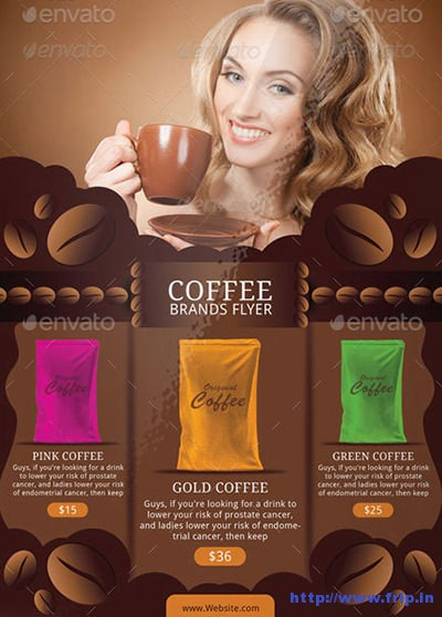 Coffee-Brand-Sales-Flyer