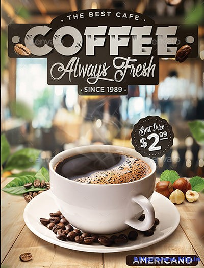 Coffee-Flyer-Template
