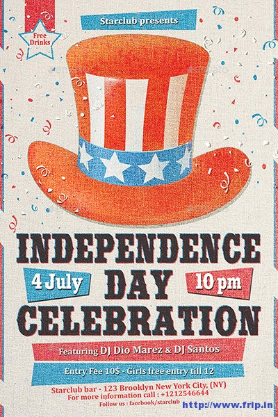 Independence-Day-Celebration-Flyer