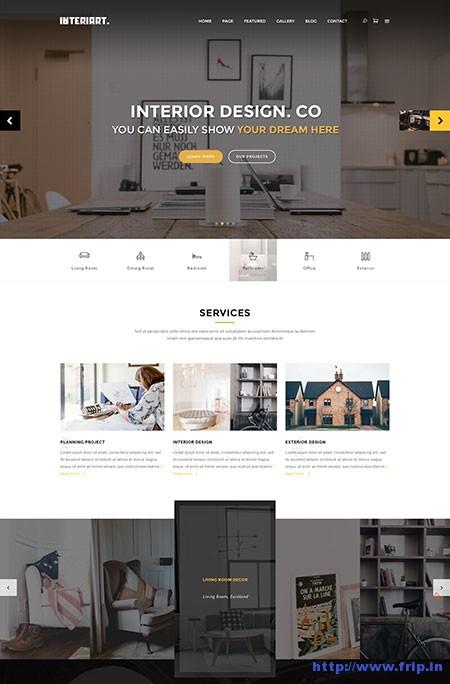 InteriArt-Furniture-&-Interior-WordPress-Theme