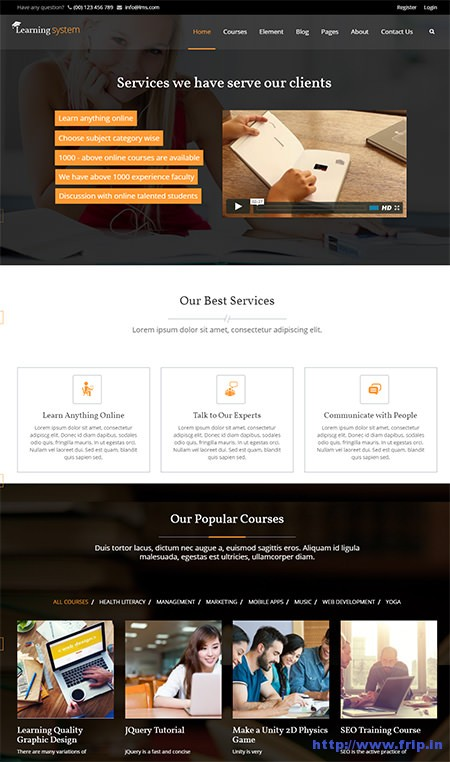 22 best learning management system wordpress themes 2016