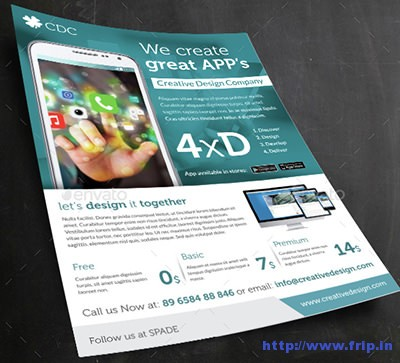 Mobile-App-A4-Flyer-Template
