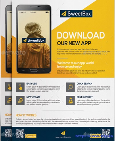 Mobile-App-Flyer-Template