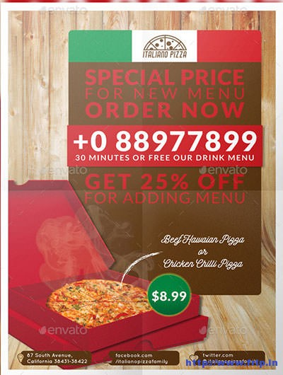 Pizza-Flyer-Poster