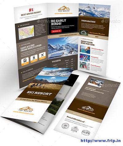 Ski-Resort-Trifold-Brochure