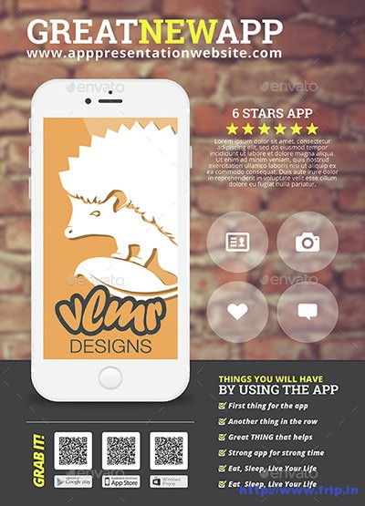 Smart-Phone-App-Business-Promotion-Flyer