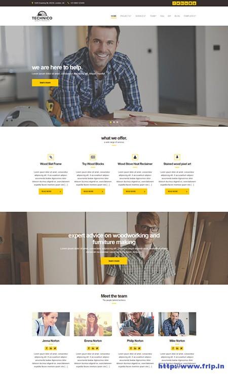 Technico-Construction-WordPress-theme