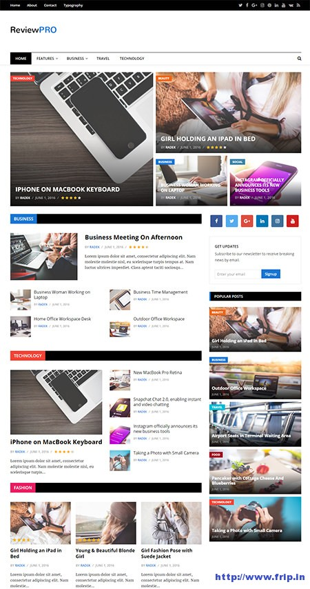 review-pro-wordpress-theme