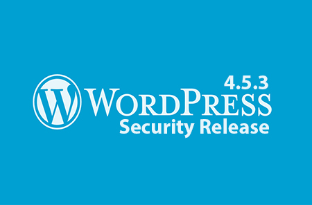 wordpress 4.5.3 released