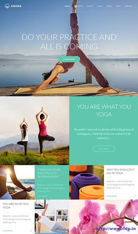 Asana-Yoga-WordPress-Theme