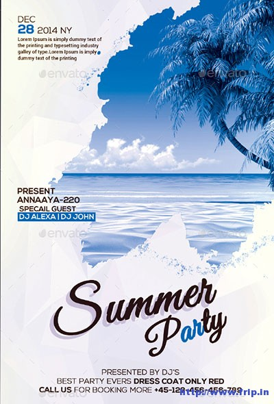 Best-Summer-Party-Flyer