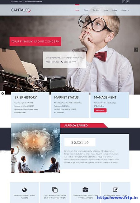 Capitalix-Finance-WordPress-Themes