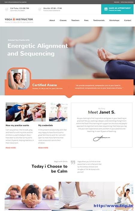Care-Yoga-WordPress-Theme