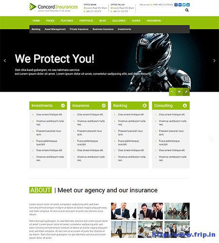 Concord-Insurance-Agency-WordPress-Theme
