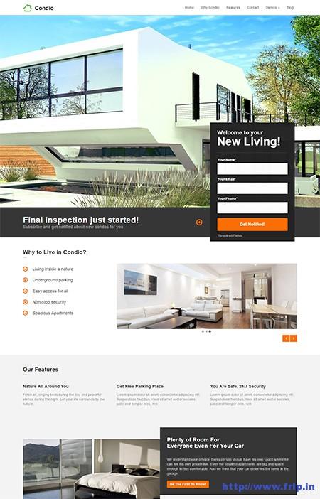 Condio-Single-Property-Real-Estate-Theme