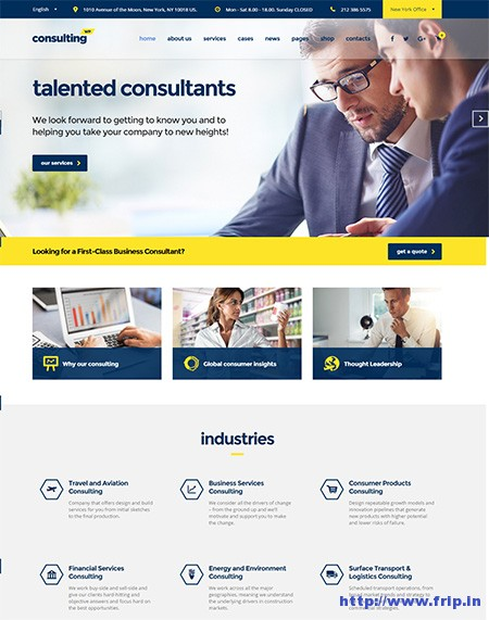 Consulting-WP-Finance-WordPress-Theme
