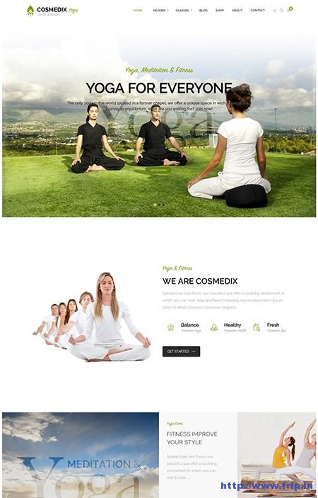 Cosmedix-Yoga-WordPress-Theme