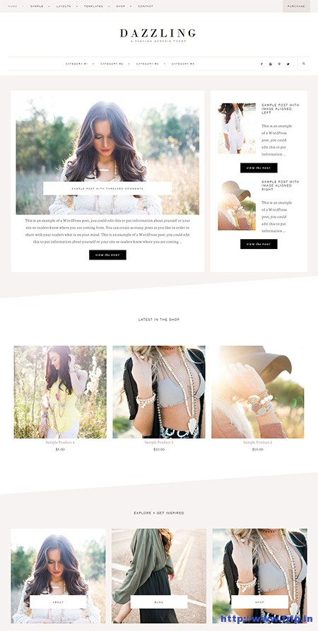Dazzling-Fashion-Genesis-WordPress-Theme