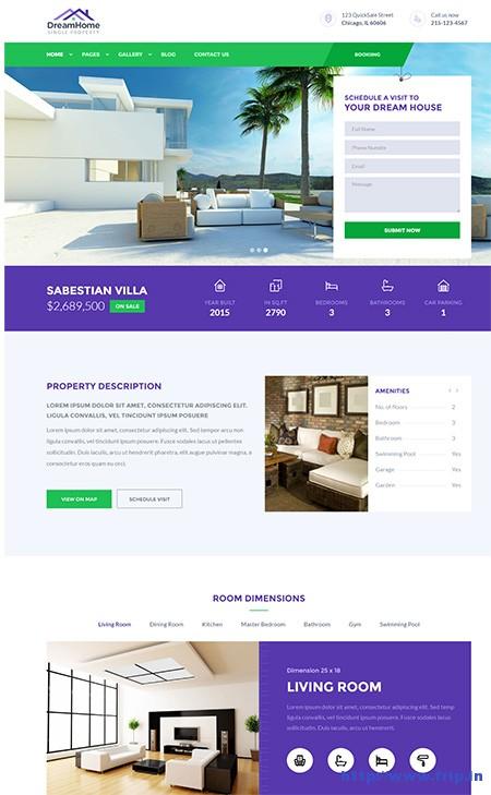 DreamHome-Single-Property-WordPress-Theme