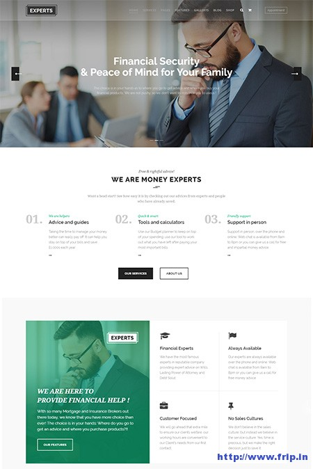 Experts-Finance-Firms-WordPress-Theme