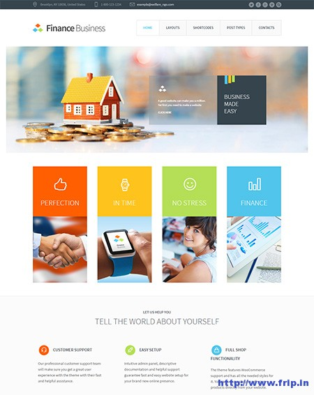 Finance-Business-Corporate-WordPress-Theme