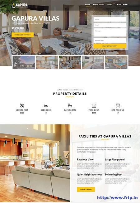 Gapura-Single-Property-WordPress-Theme