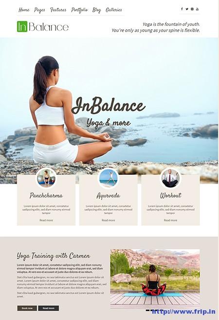 InBalance-Yoga-WordPress-Theme