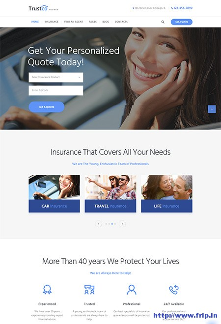 Insurance-Agency-Business-WordPress-Theme