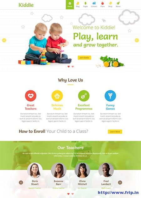 Kiddie-Kindergarten-WordPress-Theme