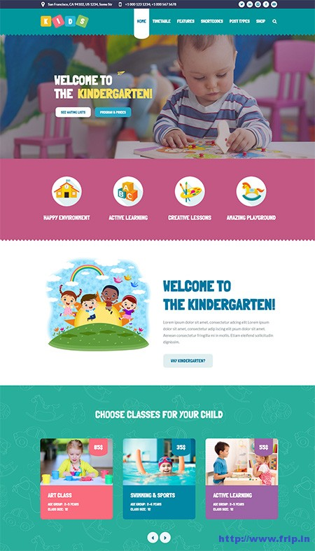 Kids-Day-Care-&-Kindergarten-WordPress-Theme