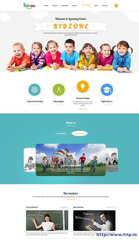 Kidzone-Kindergarten-WordPress-Theme
