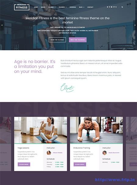 Meridian-Fitness-WordPress-Theme