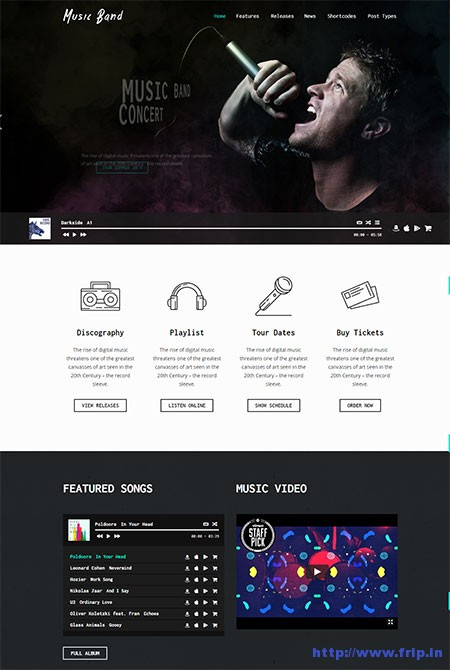 Music-Band-Music-WordPress-Theme