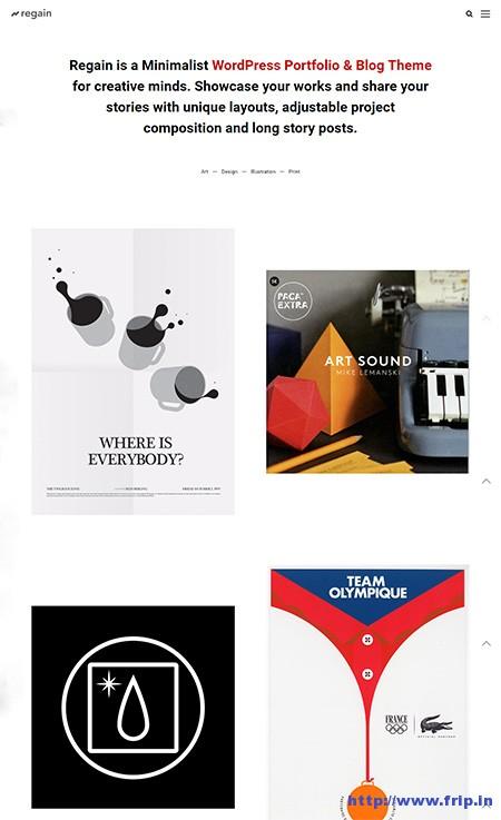 Regain-WordPress-Portfolio-&-Blog-Theme